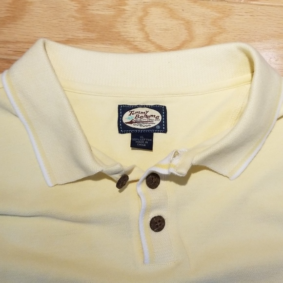 Tommy Bahama Other - Tommy Bahama Yellow Polo Shirt XL